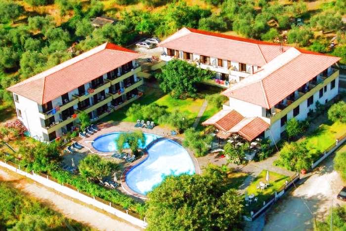 Наташа отель тасос