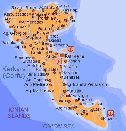 Oferte Sejur Cazare Hoteluri Insula Corfu Informatii Despre